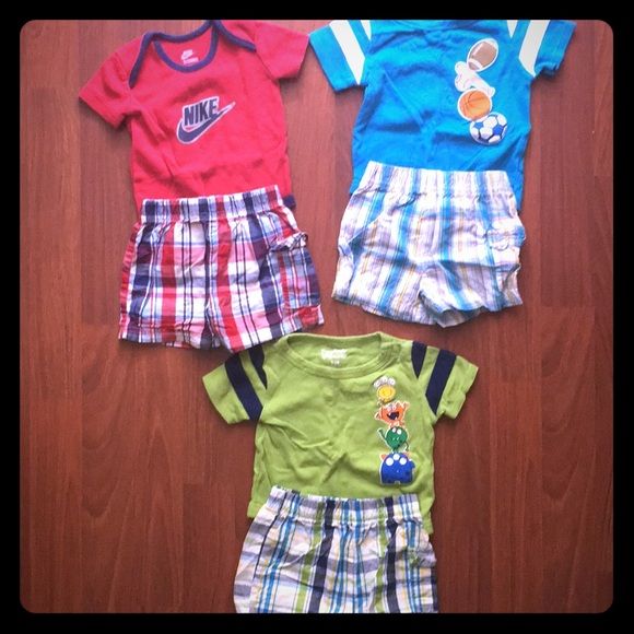 Nike Other - Baby boy summer outfits